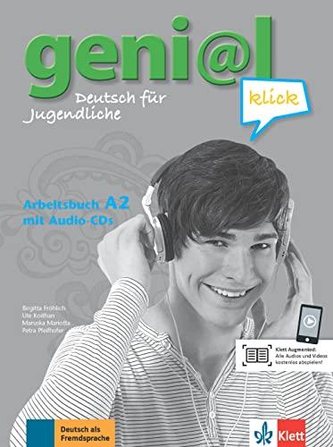9783126062978: Geni@L Klick: Arbeitsbuch A2 MIT 2 Audio-cds (German Edition)