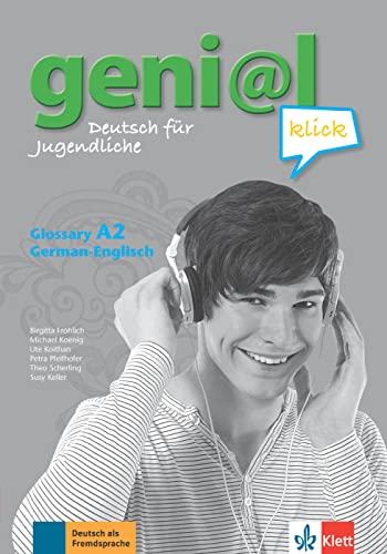 9783126063012: geni@l klick A2 - Glossar Englisch: Deutsch als Fremdsprache für Jugendliche