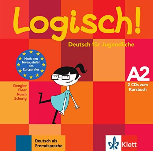 9783126063319: Logisch!: Audio-Cds Zum Kursbuch A2 (2) (German Edition)