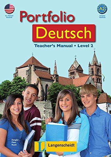 9783126063494: Portfolio Deutsch A2 Teachers Manual