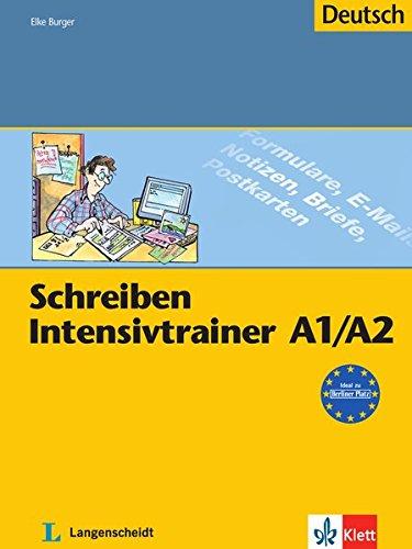 9783126063814: Schreiben Intensivtrainer: Schreiben Intensivtrainer A1-a2 (German Edition)
