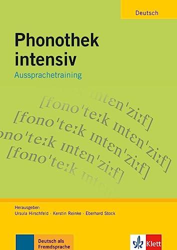 9783126063852: Phonothek Intensiv: Aussprachetraining - Arbeitsbuch (German Edition)