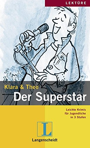 9783126064286: Leichte Krimis Fur Jugendliche in 3 Stufen: Der Super-star (German Edition)