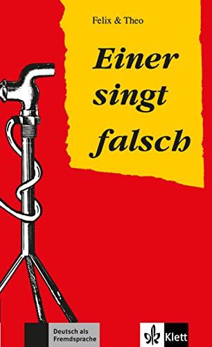 9783126064514: Einer singt falsch (Stufe 2): Einer Singt Falsch