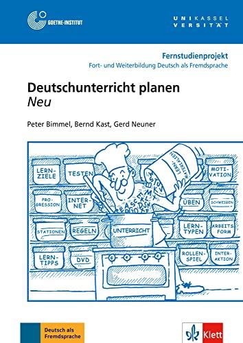 18: Deutschunterricht planen - Buch mit DVD: Bimmel, Peter, Kast,