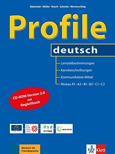 9783126065184: Profile deutsch - Buch mit CD-ROM: Lernzielbestimmungen, Kannbeschreibungen und kommunikative Mittel für die ... europäischen Referenzrahmens für Sprachen