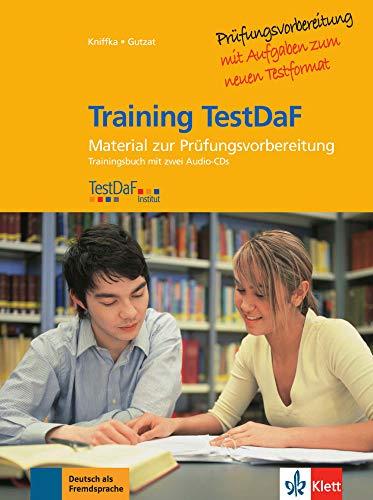 9783126066396: Training test DAF. Con CD Audio. Per le Scuole superiori