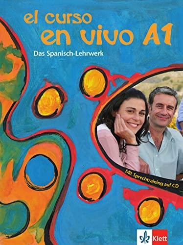9783126066716: El curso en vivo A1 - Lehr- und Arbeitsbuch mit 2 Audio-CDs und Beiheft