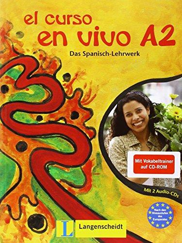 9783126066778: El curso en vivo A2 - Set aus Buch, Audio-CDs und Vokabeltrainer
