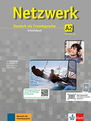 9783126069991: Netzwerk. Arbeitsbuch Gesamtband A2 mit 2 Audio-CDs: Arbeitsbuch mit 2 Audio-CDs