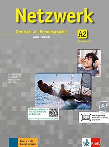 9783126069991: Netzwerk. A2. Arbeitsbuch. Con CD. Per le Scuole superiori