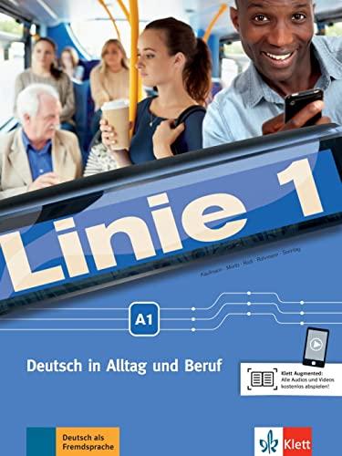 9783126070553: Linie 1: Kurs- Und Ubungsbuch A1 Mit DVD-Rom
