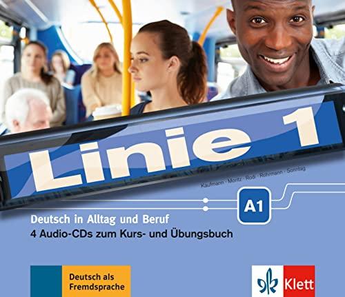 9783126070560: Linie 1: CDs A1 zum Kurs- und Ubungsbuch (4)