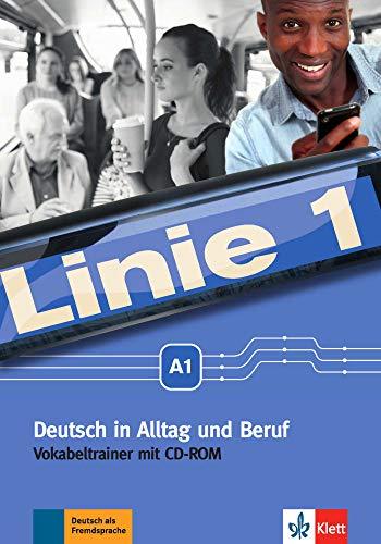 9783126070638: Linie 1 A1 Vokabeltrainer mit CD-ROM