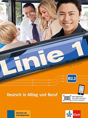 9783126071123: Linie 1 b2.2, libro del alumno y ejercicios