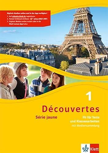 9783126220101: Découvertes Série jaune 1. Fit für Tests und Klassenarbeiten