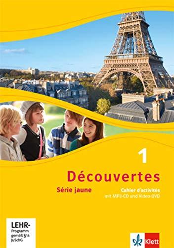 9783126220163: Découvertes Série jaune 1. Cahier d'activités mit MP3-CD und Video-DVD: Série jaune (ab Klasse 6)