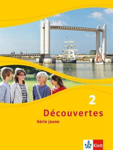 9783126220224: Découvertes, Bd.2 : Série jaune, Schülerbuch ab Klasse 6