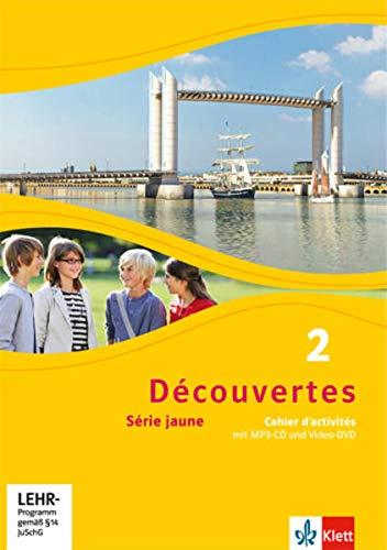 9783126220262: Découvertes Série jaune 2. Cahier d'activités mit MP3-CD und Video-DVD: Série jaune (ab Klasse 6)
