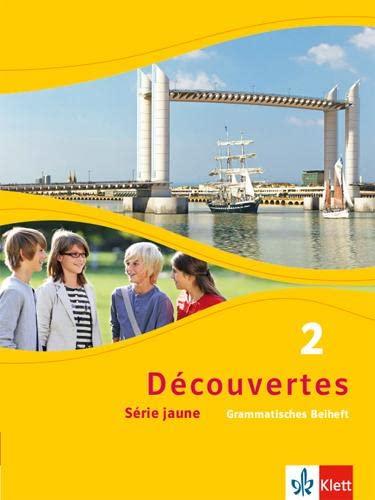 9783126220286: Découvertes Série jaune 2. Grammatisches Beiheft: Série jaune (ab Klasse 6)