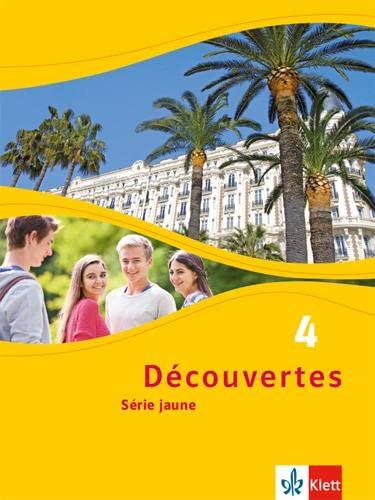9783126220415: Découvertes 4. Série jaune (ab Klasse 6) Schülerbuch