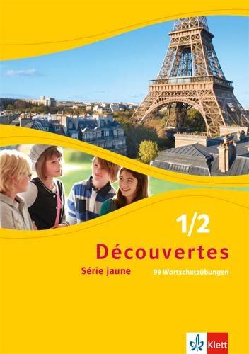 9783126220613: Découvertes Série jaune 1 und 2. 99 Wortschatzübungen: Série jaune (ab Klasse 6)