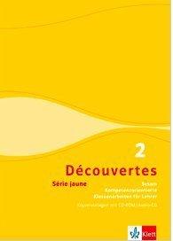 9783126221085: Découvertes - Sesam Série jaune (ab Klasse 6) Kopiervorlagen CD-Rom und Audio-CD. Band 2