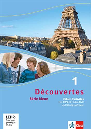 9783126221153: Découvertes. Cahier d'activités mit Audio-CD (MP3 für PC), DVD mit Filmsequenzen und Übungssoftware. Ab Klasse 7