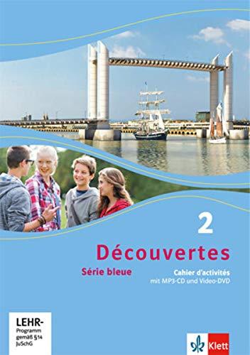 9783126221269: Découvertes Série bleue 2. Cahier d'activités mit MP3-CD und Video-DVD