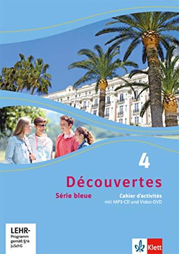 9783126221467: Découvertes Série bleue 4. Cahier d'activités mit MP3-CD und Video-DVD