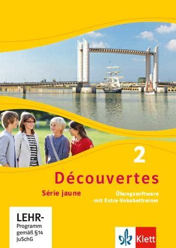 9783126221566: Découvertes Série jaune 2. Übungssoftware mit Vokabeltrainer. Einzellizenz: Série jaune (ab Klasse 6) (Découvertes / Série jaune (ab Klasse 6))