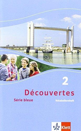 9783126221832: Découvertes 2. Vokabellernheft: Série bleue (ab Klasse 7)