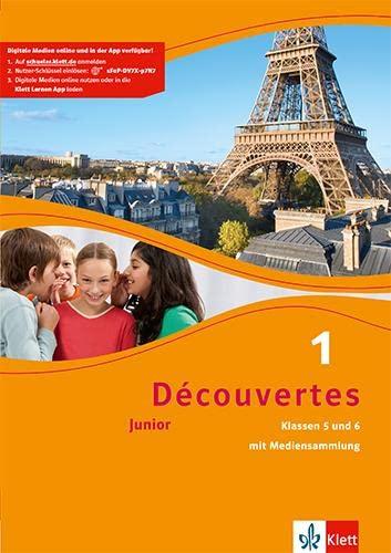 9783126222167: Découvertes Junior 1. Cahier d'activités mit MP3-CD und Video-DVD: Junior (ab Klasse 5)