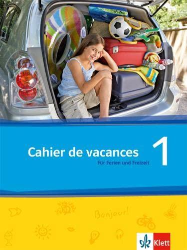 9783126222464: Découvertes Série jaune und bleue 1. Cahier de vacances: Das Heft für Ferien und Freizeit