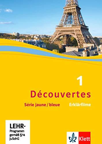 9783126222525: Découvertes Série jaune und Série bleue 1. Erklärfilme [Alemania] [DVD]
