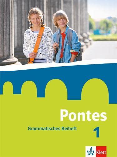 9783126223027: Pontes 1. Grammatisches Beiheft