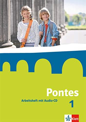9783126223041: Pontes 1. Arbeitsheft mit Audio-CD: Lateinisches Unterrichtswerk