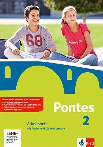 9783126223133: Pontes 2. Arbeitsheft mit Audio-CD und CD-ROM