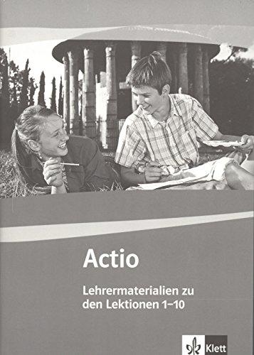 9783126232159: Actio, Bd.1 : Lehrermaterial