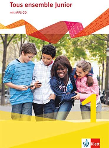 9783126235105: Tous ensemble Junior 1. Französisch als 1. Fremdsprache. Cahier d'activités mit MP3-CD