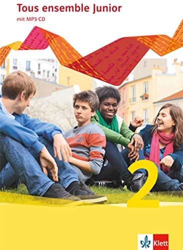9783126235204: Tous ensemble Junior 2. Französisch als 1. Fremdsprache. Cahier d'activités mit MP3-CD