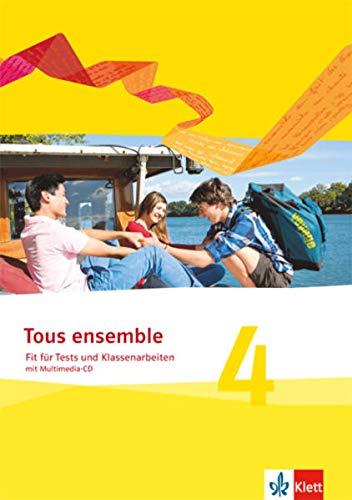9783126236386: Tous ensemble 4. Fit für Tests und Klassenarbeiten mit Lösungen und Multimedia-CD