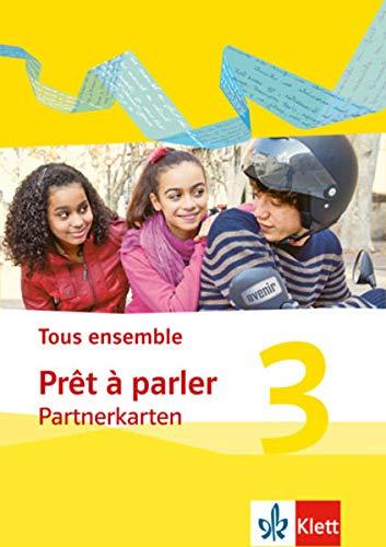 9783126236775: Tous ensemble 3. Prêt à parler, Partnerkarte. Ausgabe 2013