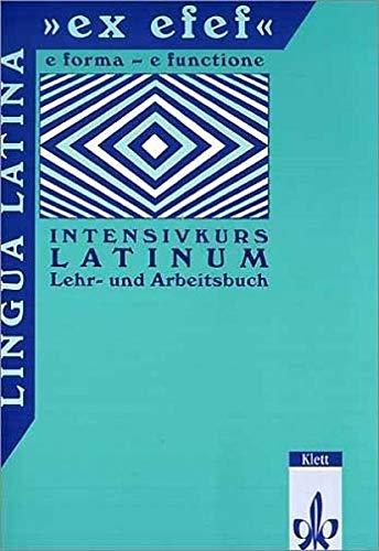 9783126251105: Lingua Latina. 'ex efef'. Lehr- und Arbeitsbuch für Schüler: Intensivkurs Latinum
