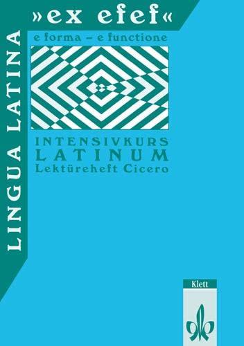9783126251303: Lingua Latina 'ex efef'. Lektüreheft Cicero: Intensivkurs Latinum