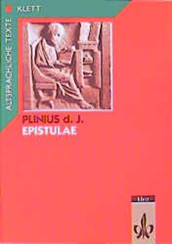 9783126423106: Epistulae Teil 1. Textauswahl mit Wort- und Sacherläuterungen