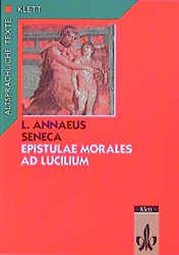 9783126443005: Epistulae morales ad Lucilium 1 / 2: Text mit Wort-und Sacherläuterungen. Arbeitskommentar mit Zweittexten