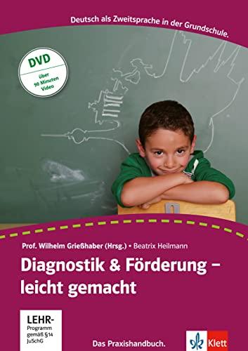 9783126668019: Diagnostik & Förderung - leicht gemacht: Deutsch als Zweitsprache. Ein Praxishandbuch mit Video-DVD