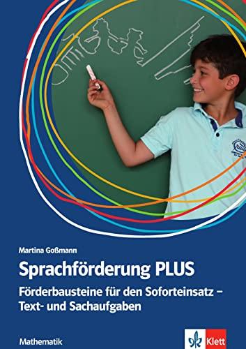 9783126668057: Sprachförderung PLUS Mathematik: Förderbausteine für den Soforteinsatz - Text- und Sachaufgaben in der Grundschule