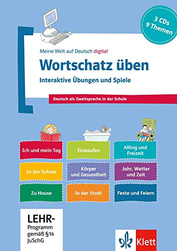 9783126748872: Wortschatz üben: Interaktive Übungen und Spiele